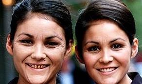 タバコ双子